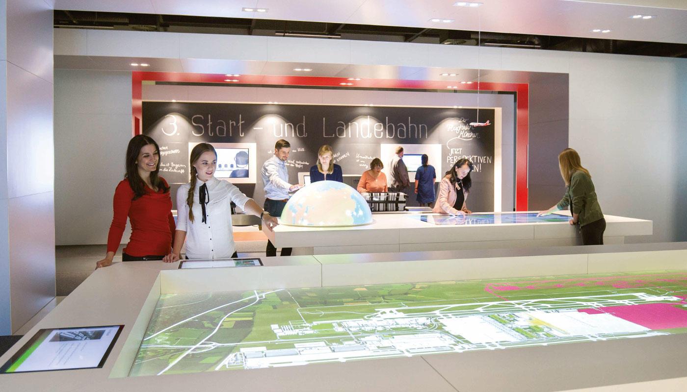 Interaktive Ausstellung: Faszination Flughafen