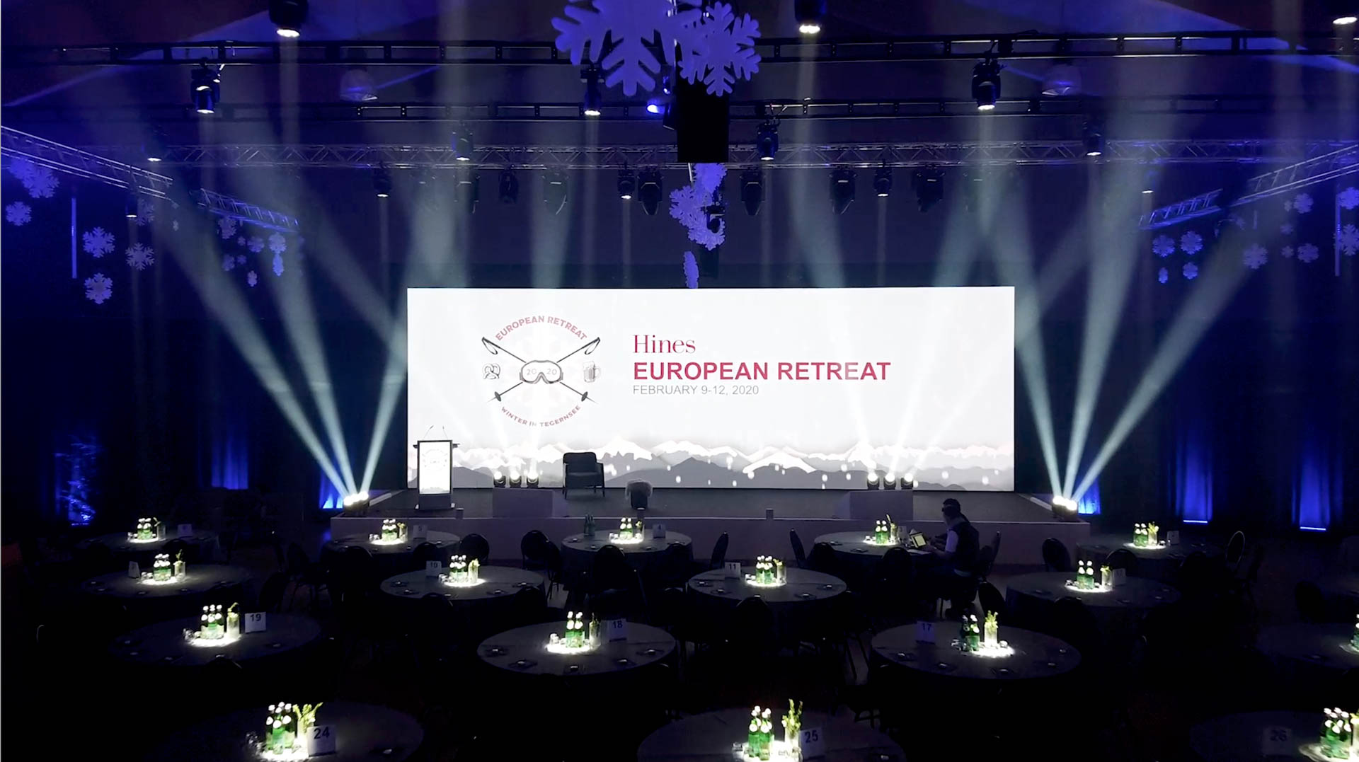 Hines European Conference: Show Content